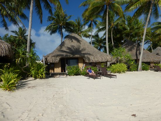 Intercontinental Bora Le Moana Resort Private Beach At Bungalow 55
