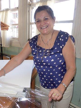 Ushuaia, Argentina: Sra HAYDEE ROMERO / Prof TANGO / FOLCLORE y DANZAS NATIVAS