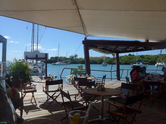 Dodgy Dock Restaurant and Lounge Bar: Autre vue