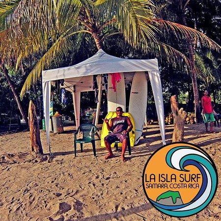Samara Beach: La Isla Surf School and Fabricio