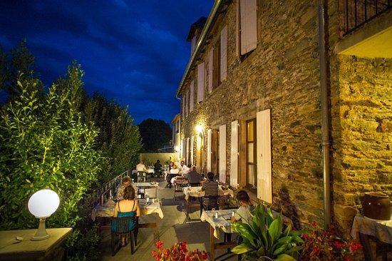 Curvalle, Francia: terrasse