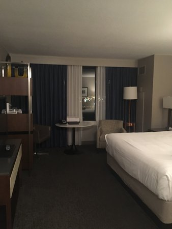 Hyatt Regency Wichita: The staff is wonderful and my room was comfortable.  I had a great view of the Arkansas River. I