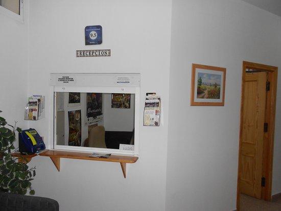Apartamentos Cazorlapart: Recepción