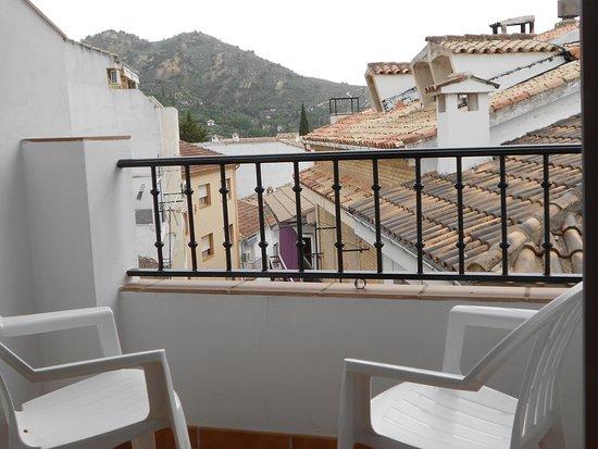 Apartamentos Cazorlapart: Terraza