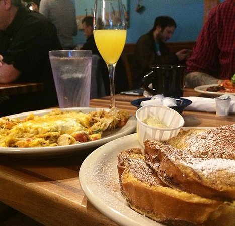 Kerbey Lane Cafe Central: Paris Texas Platter