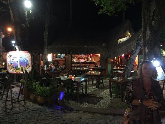 Restaurante Boi nos Aires: Vista Externa. Tem musica ao vivo