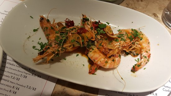 Gambas Al Ajillo Picture Of Barrafina London Tripadvisor