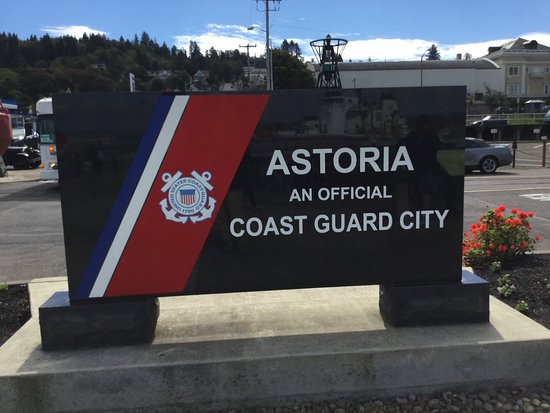 Coast Guard seal of approval Picture of Astoria Oregon Riverwalk