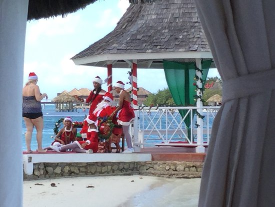 sandals royal caribbean resort and private island great christmas at sandals royal caribbean