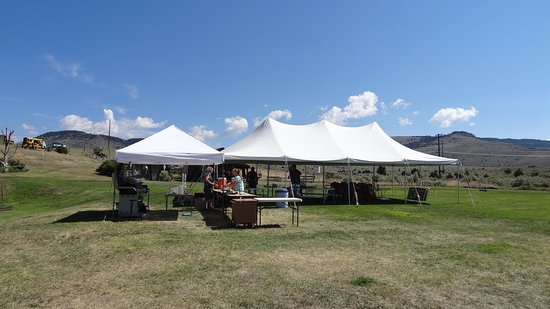 "Virginia City, MT: Special Events welcome!  We offer canopies - great for creating an ""outdoor room""!"
