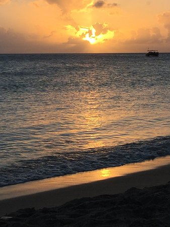 Sunset on St. Kitts