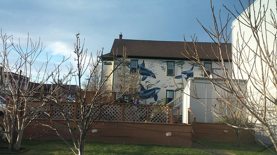 Friday Harbor, Waszyngton: Whale Mural