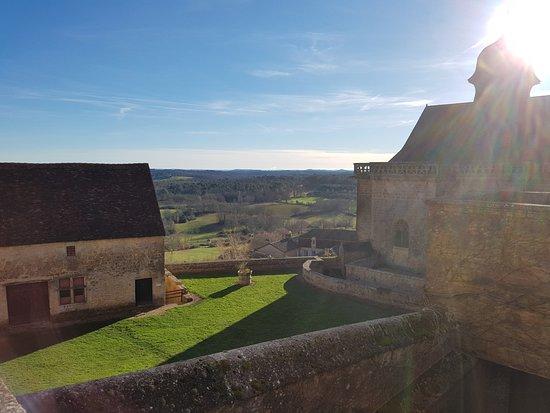 Biron, Francia: Point de vue