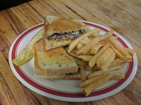 Eads, CO: PATTIE MELT WITH FRENCH FRIES