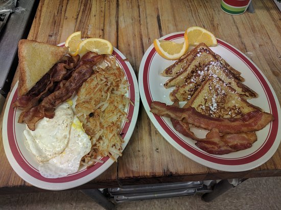 Eads, CO: BACON & 2EGGS   OR FRENCH TOAST COMBO