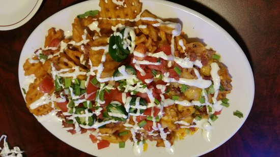 Potsdam, NY: Irish nachos.... So yummy