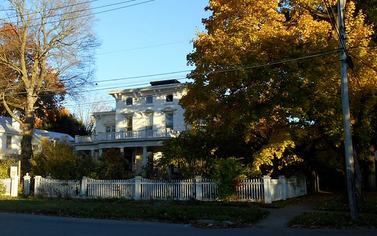The OAK & IVY is located at the corner of N. George St. and W. Bloomfield St.in historic Rome, N