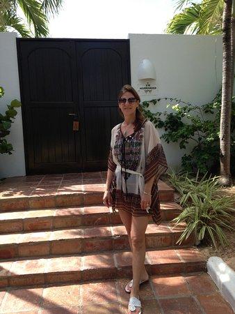 West End Village, Anguilla: FRONT DOOR!!!!!!!