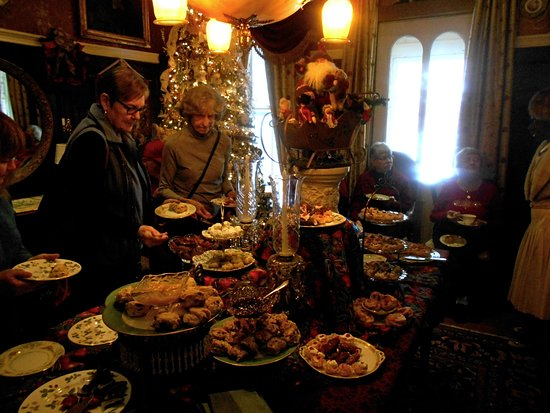 Rome, NY: English Afternoon Tea during the holiday season...