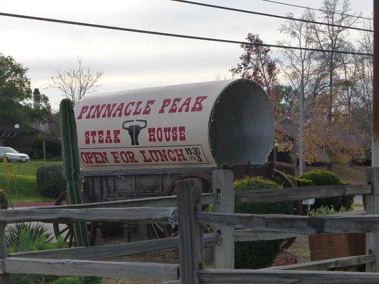 "San Dimas, CA: ""Sign"" along the road."