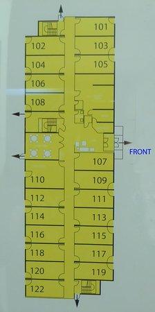 Taber, Canadá: Main floor plan