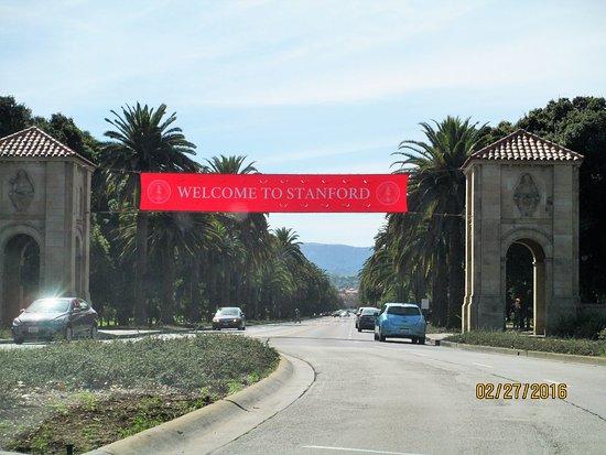 Palo Alto, Californien: Arriving at Stanford University