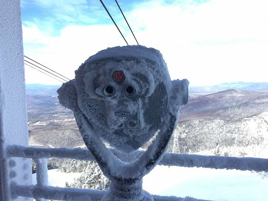 Franconia, Nueva Hampshire: Beautiful winter views from the top!