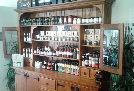Tasting House - Coal River Valley Wine Tours: Some of our Tasmanian produce on display.
