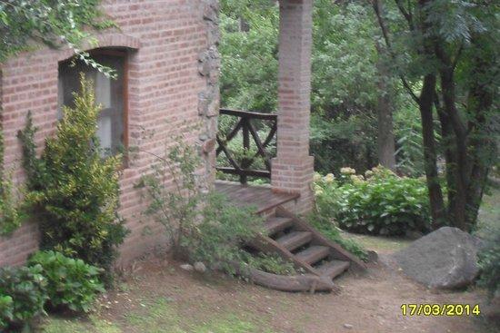 San Javier, Argentyna: vista de la cabaña