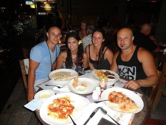 Mozzarella: Dinner in Bali