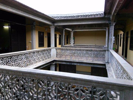 Meizhou, China: Beautiful over 100 years structure near the Museum