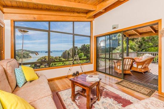Opua, Yeni Zelanda: Lounge