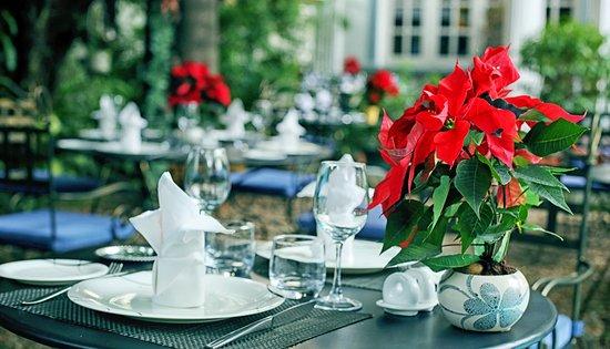 Garden View Picture Of La Villa French Restaurant Ho