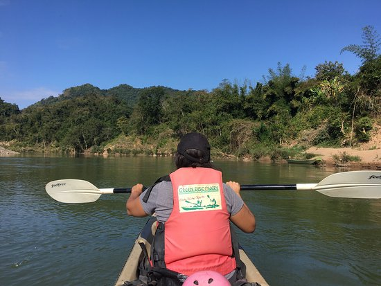 Green Discovery: Views from the Nam Khan kayaking trip