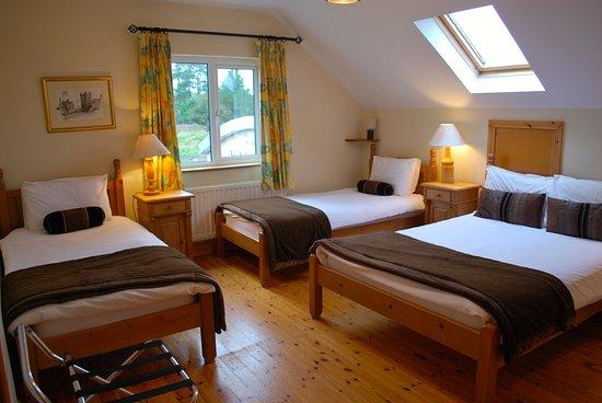 Foxford Lodge: Room 4 Family Room or Triple Room
