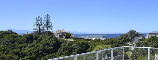 Anlin Beach House: View from patio of Luxury apartment