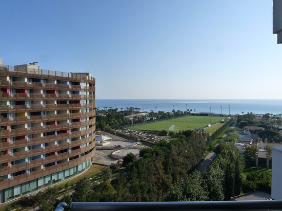 Barut Lara: view from our room