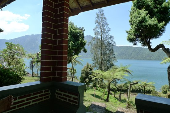 Baturiti, Indonesia: lake view from the room