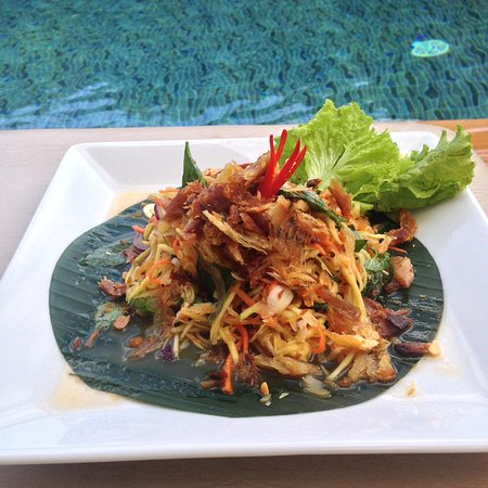 baby elephant boutique hotel great tasting khmer food by the pool