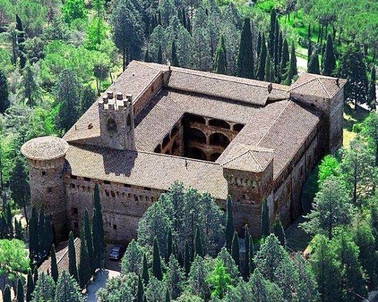 Magione, Italien: Castello - Veduta dall'alto