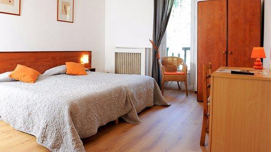 Ascain, Francia: chambre twin