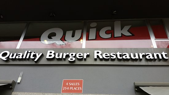 Quick luxembourg 59 avenue de la gare restaurant avis num ro de t l phone photos - Magasin avenue de la gare luxembourg ...