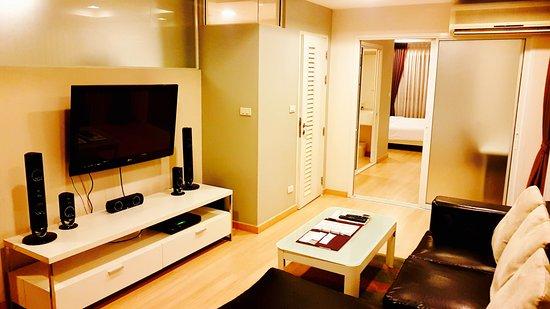 Baan K Residence by Bliston: Lounge area