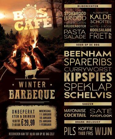 Boscafe het maasdal: Winter BBQ bij Boscafe!