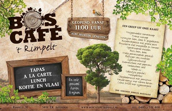 Afferden, The Netherlands: Boscafe 't Rimpelt