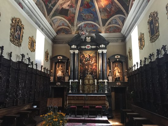Bourg Saint Pierre, Switzerland: The chapel