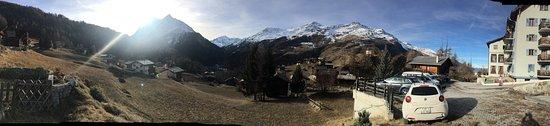 La Sage, Sveits: Vue magnifique !!!