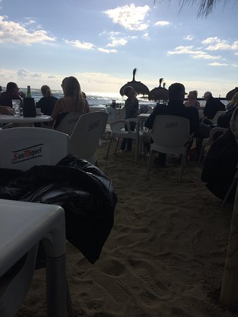 In beach!!!