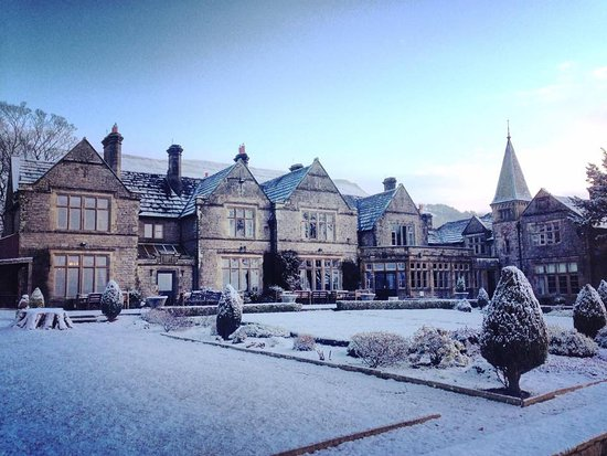 Simonstone Hall Country House Hotel In The Snow