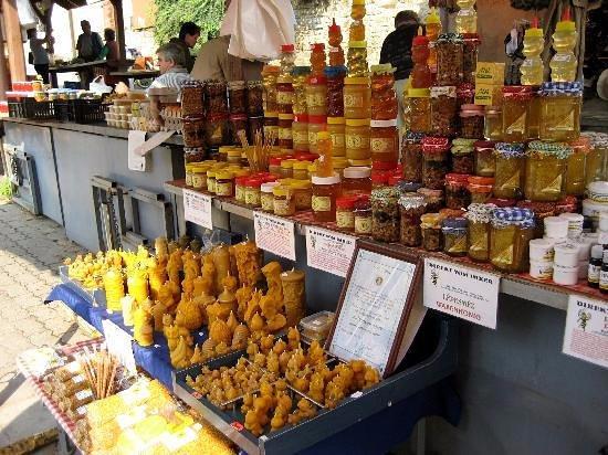 Markt in Keszthely